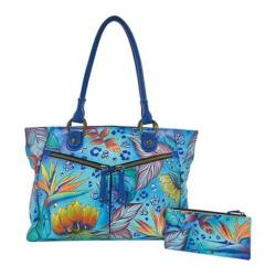 Women's Anuschka Large Shopper with Front Pockets Tropical Dream