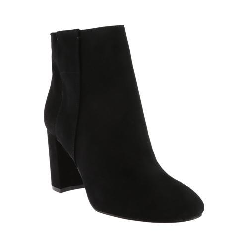 Nine West Women's Whynot Ankle Bootie Black Leather