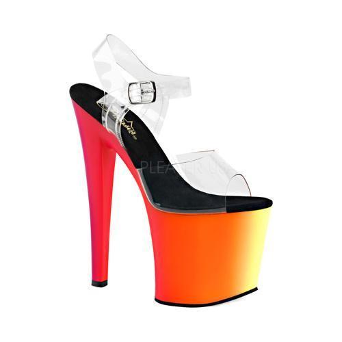Pleaser Rainbow 708UV Ankle Strap Sandal (Women's) 668HIp5