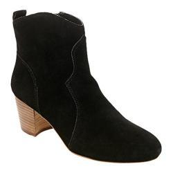 Women's Steve Madden Hipstr Ankle Boot Black Suede