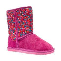 Girls' Lamo Sequin Pattern Boot Multi
