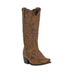 Dan Post Men's Western Boots Flat Head DP2204 Tan Leather