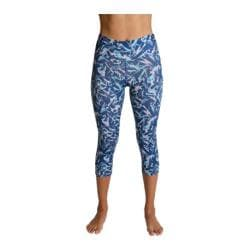 Women's Be Up Supreme Fitted Capri Airbrush