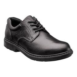 Men's Nunn Bush Wagner Plain Toe Oxford Black Leather