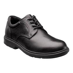 Men's Nunn Bush Waterloo Waterproof Oxford Black Tumbled Leather