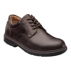 Men's Nunn Bush Waterloo Waterproof Oxford Brown Crazy Horse Leather