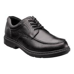 Men's Nunn Bush Wayne Moc-Toe Oxford Black Leather