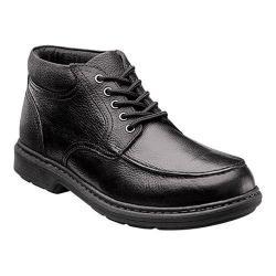 Men's Nunn Bush Wilmot Moc Toe Boot Black Leather