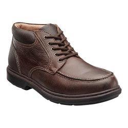 Men's Nunn Bush Wilmot Moc Toe Boot Brown Leather