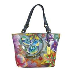 Women's Anuschka Classic Large Tote Blissful Birds