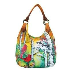Women's Anuschka Large Shoulder Hobo Country Cat