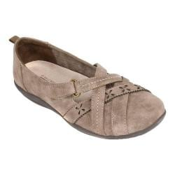 Women's Cliffs by White Mountain Greenwood Flat Stone Suede Smooth Synthetic