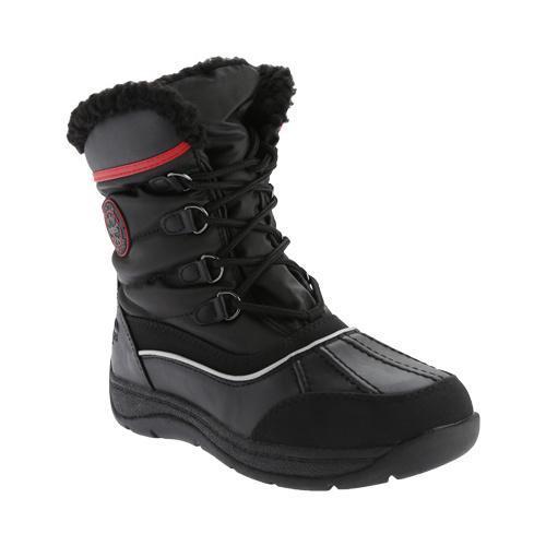 TOTES Women's Lauren Waterproof Snow Boot Black (US Women...