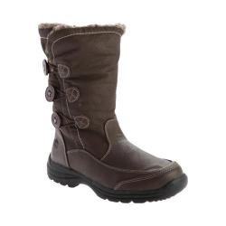 Totes Women's Celina Waterproof Snow Boot Brown