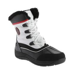 Totes Women's Lauren Waterproof Snow Boot White
