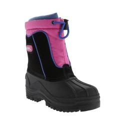 Children's totes Snow Drift Waterproof Snow Boot Black/Fuchsia
