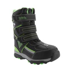 Children's totes Snowboard Waterproof Snow Boot Black/Lime