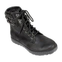 Women's Cliffs by White Mountain Kaylor Ankle Boot Black Fabric