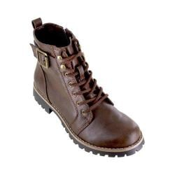 Women's Cliffs by White Mountain Pinch Hiking Boot Brown Smooth Synthetic