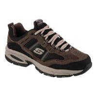 Men's Skechers Vigor 2.0 Trait Cross Training Shoe Brown/Black