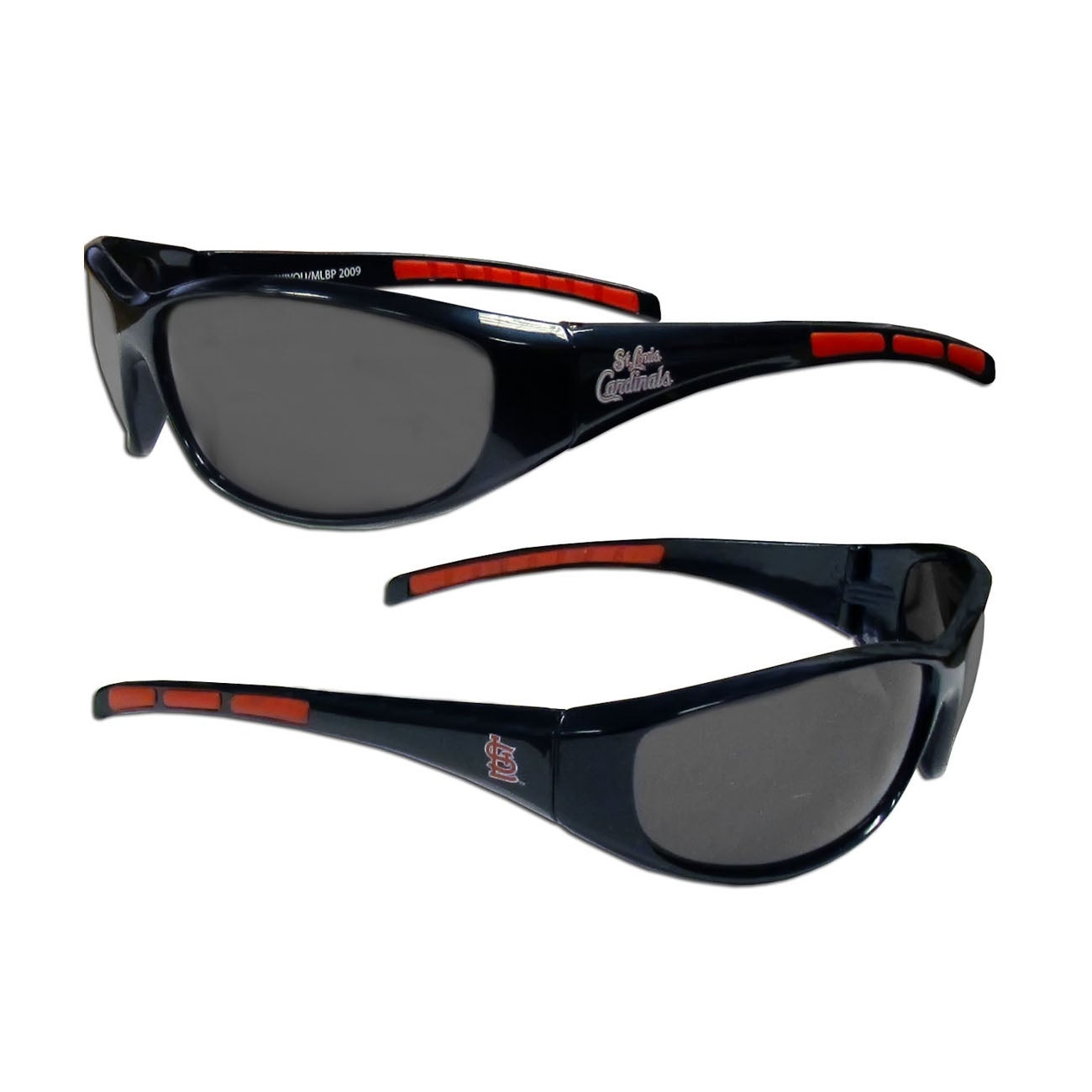 MLB St Louis Cardinals Wrap 3 Dot Sunglasses