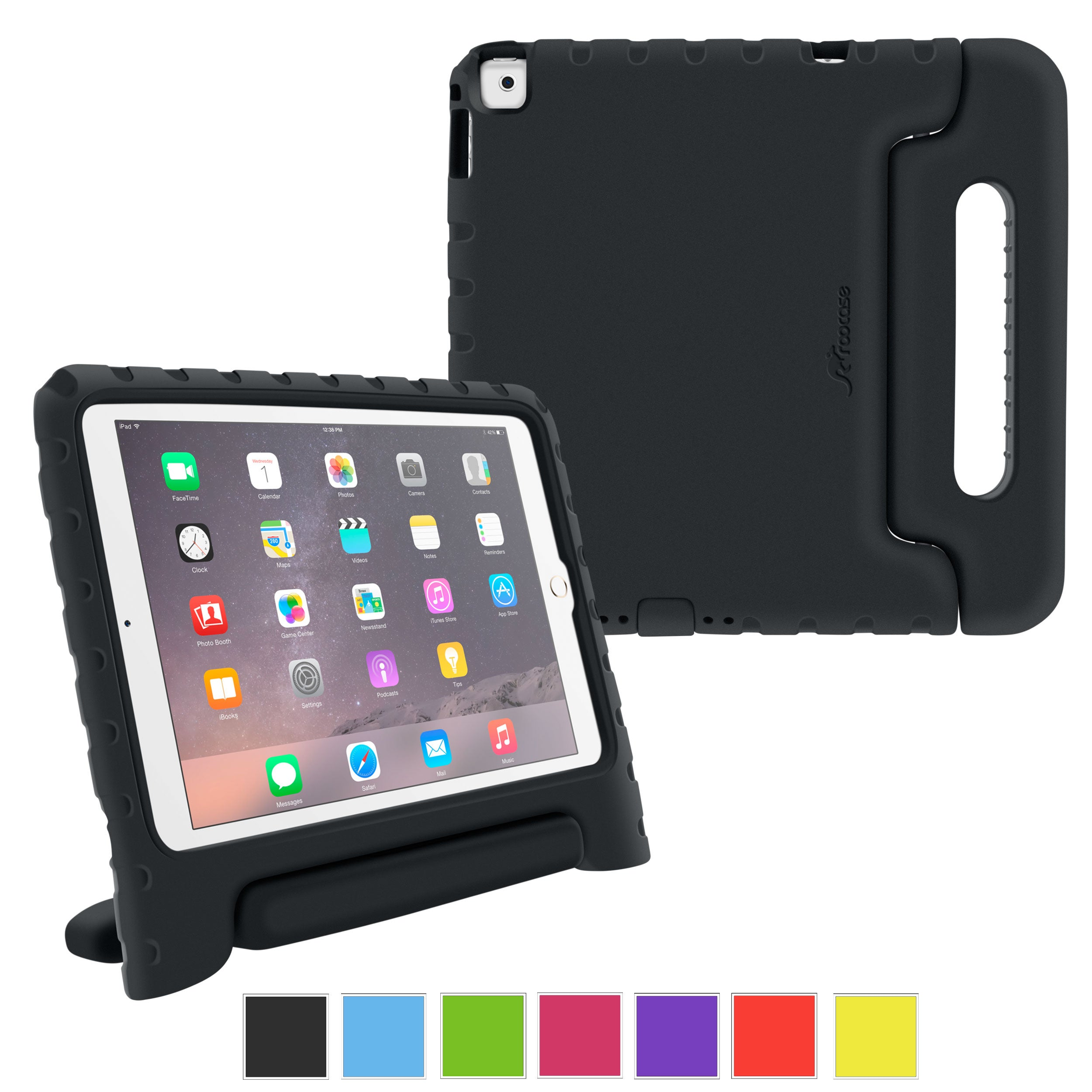 roocase KidArmor Case for Apple iPad Air 2