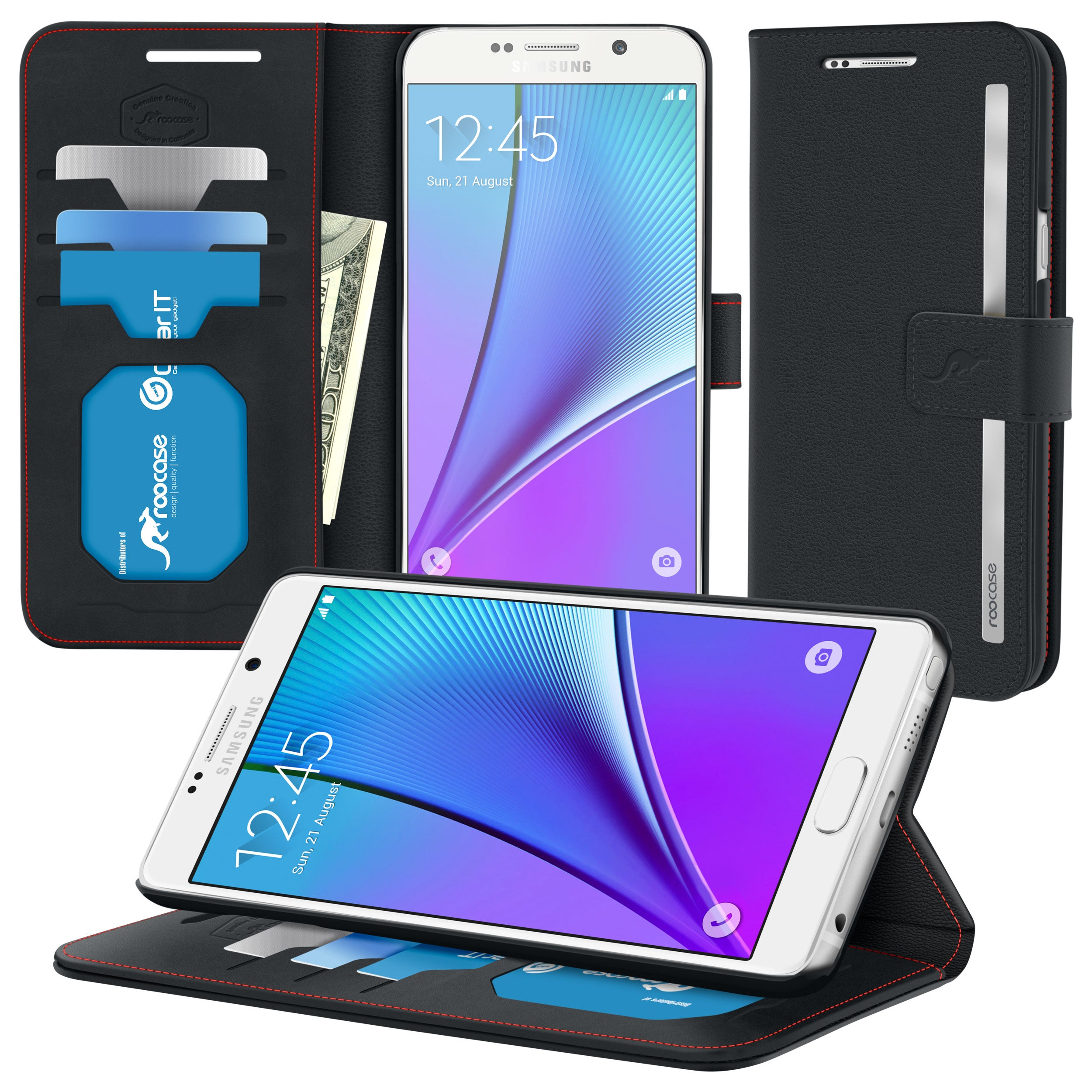 roocase Prestige Folio Case for Samsung Galaxy Note5