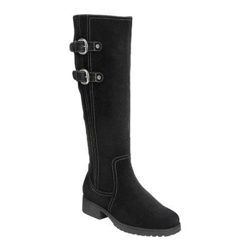 Aerosoles Women's Love Note Suede Knee Boot Black