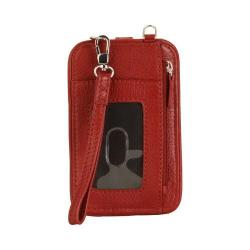Women's Hadaki by Kalencom Essentials Crossbody HDK719 Deep Red