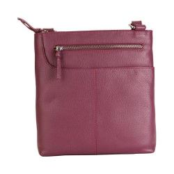 Women's Hadaki by Kalencom Monique Cross Body Bag Plum