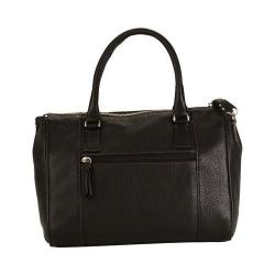 Women's Hadaki by Kalencom Valeria Satchel Black