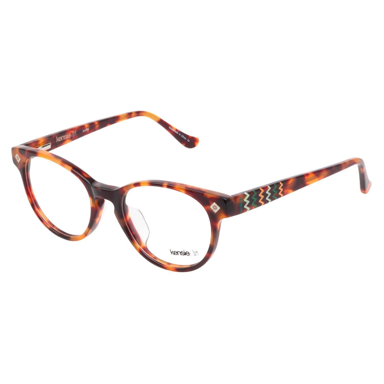 Shop Kensie Girl Zany TO Tortoise Prescription Eyeglasses - Free ...
