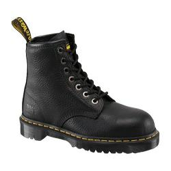 Dr. Martens Men's Icon 7 Eye Boot Black Industrial Bear