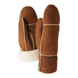 Women's Ricardo B.H. M-05 Deluxe Sheepskin Mitten Chestnut/Natural Suede|https://ak1.ostkcdn.com/images/products/94/904/P17793491.jpg?impolicy=medium