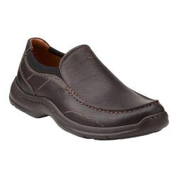Men's Clarks Niland Energy Slip-on Brown Tumbled - Thumbnail 0