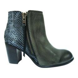 Diba True Women's Bootie Grey/Silver Leather/Metallic