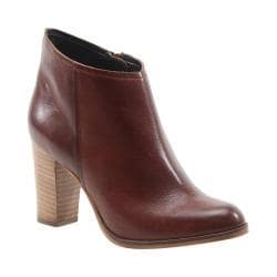 Women's Diba True Cos Moe Bootie Cognac Leather