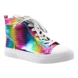 Women's Luichiny Lunar Love High Top Rainbow Leather