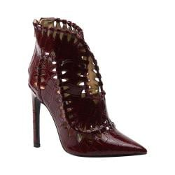 Women's Luichiny Stone Cold Bootie Wine Croco Leather