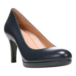 Women's Naturalizer Michelle Pump Classic Navy Sheep Premium Leather