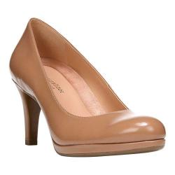 Women's Naturalizer Michelle Pump Nude Shiny Harris Polyurethane