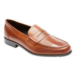 Men's Rockport Classic Loafer Lite Penny Cognac Leather