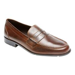 Men's Rockport Classic Loafer Lite Penny Dark Brown Leather