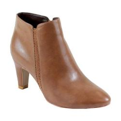 Women's Reneeze Petra-01 Pointed Toe Ankle Booties Khaki