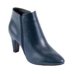 Reneeze Women's Petra-01 Pointed Toe Navy Ankle Bootie