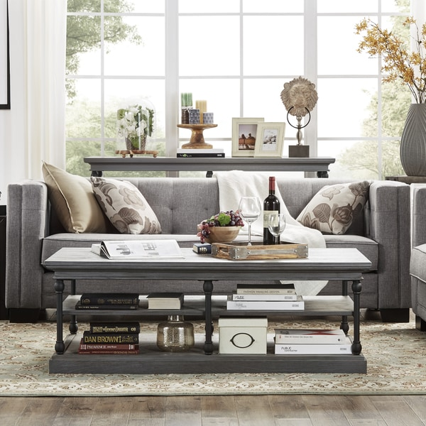 Hamilton Modern Linen Sofa With Button Tufting By INSPIRE Q Bold