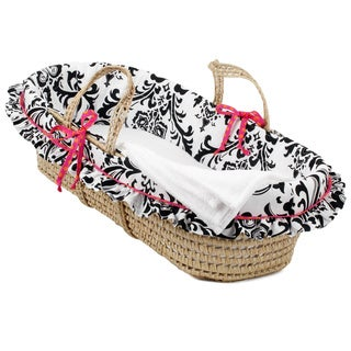 Cotton Tale Girly Moses Basket