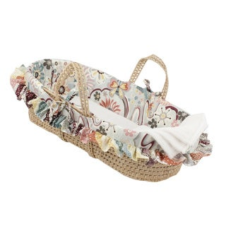 Cotton Tale Girls' 'Penny Lane' Moses Basket