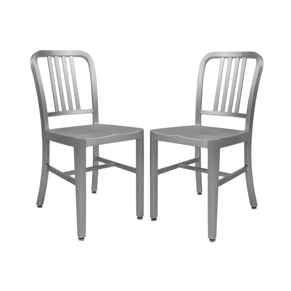 leisuremod alton modern dining chair set of 2