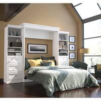 Versatile by Bestar 115-inch Queen-size Wall Bed Set